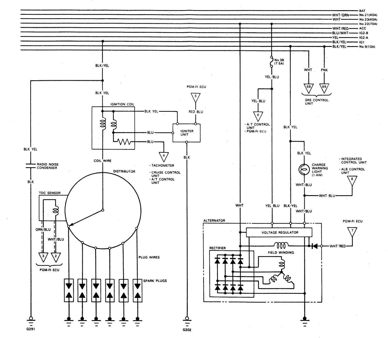 Wiring Diagram 93 Xj6 Charging Diagrams Yzf600r 1994 Acura Legend Images Xs650 Mark Viii