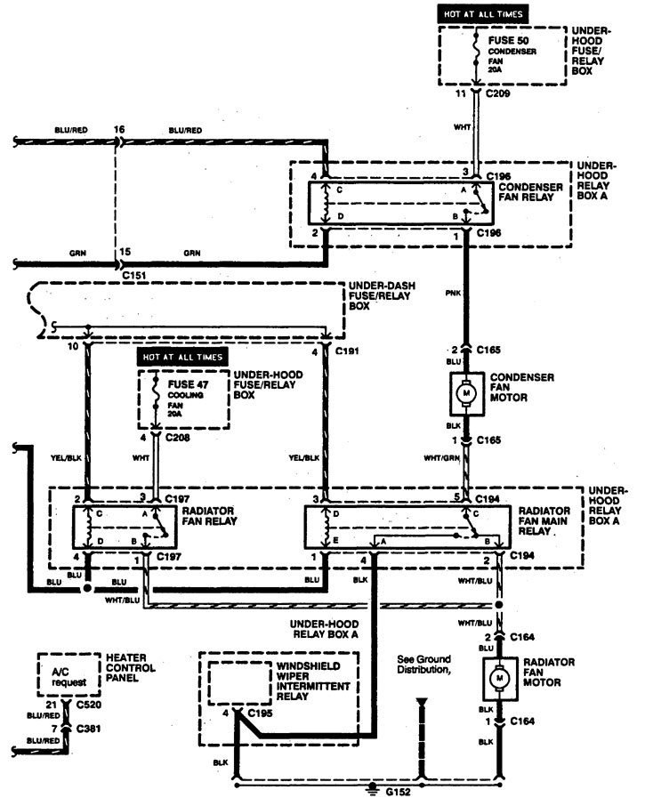 Acura Legend Wiring Diagram Cooling Fans V on 1992 Acura Legend Engine Diagram