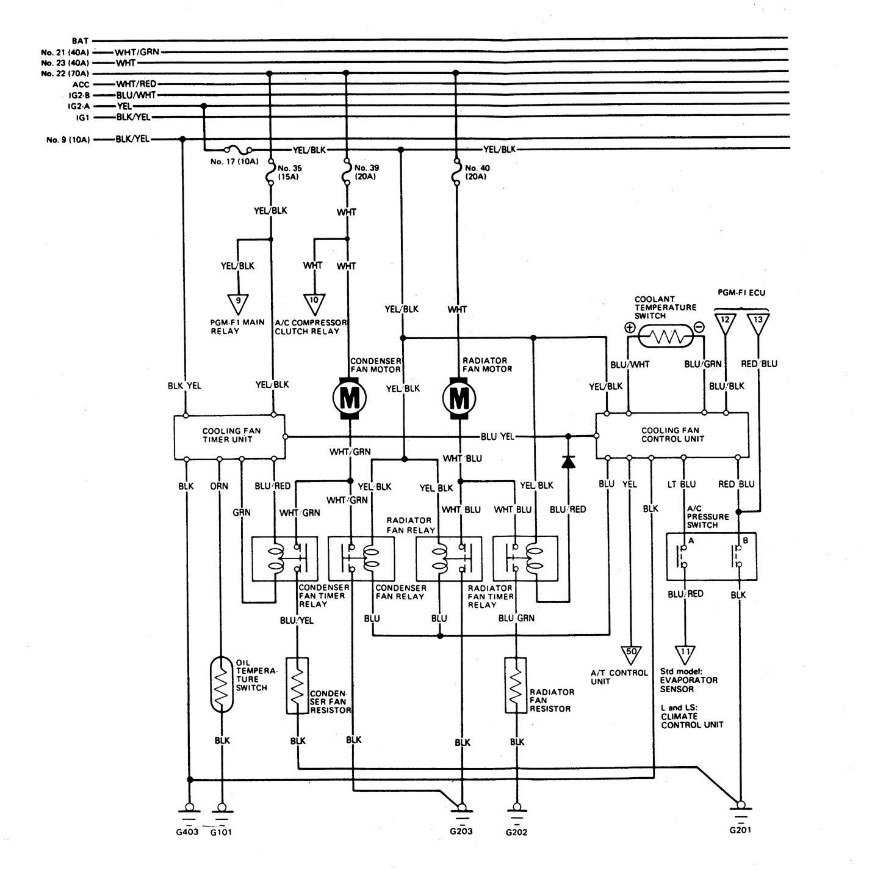 Acura Legend  1989  - Wiring System