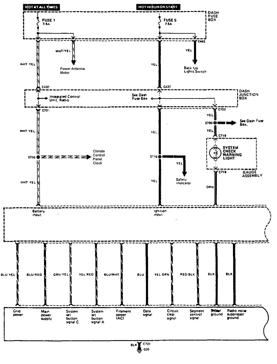Acura legend 1990 wiring diagram driver information center acura legend wiring diagram driver information centermessage center part 1 asfbconference2016 Choice Image