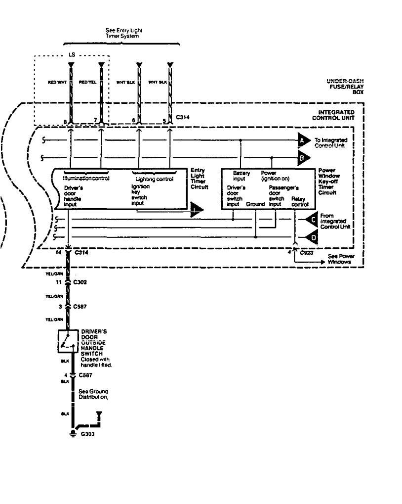 Acura Legend 1994 Wiring Diagram Driver Information Center Fuse Box Message Part 2