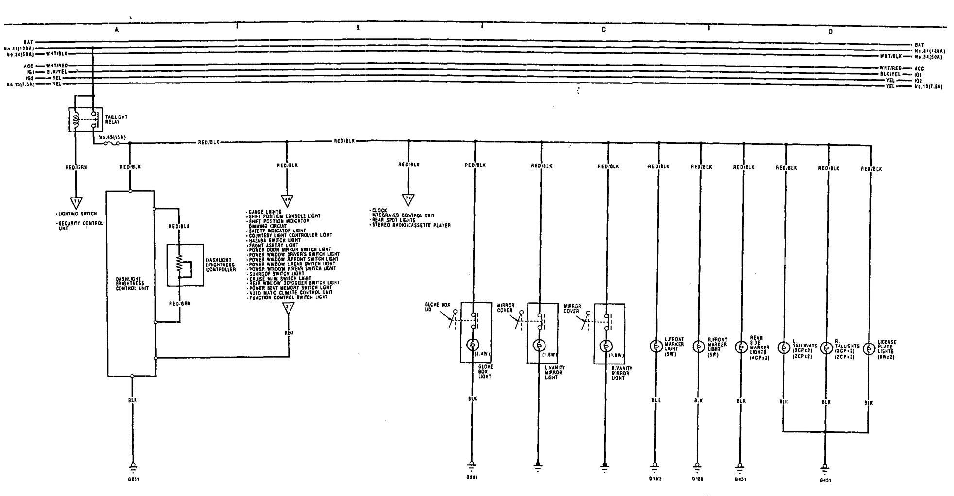 1991 Legend Wiring Diagram Free For You 1992 Acura Vigor Exterior Chevrolet