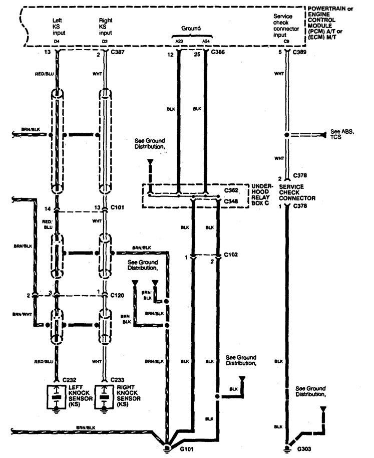Acura Legend Wiring Diagram Fuel Controls V