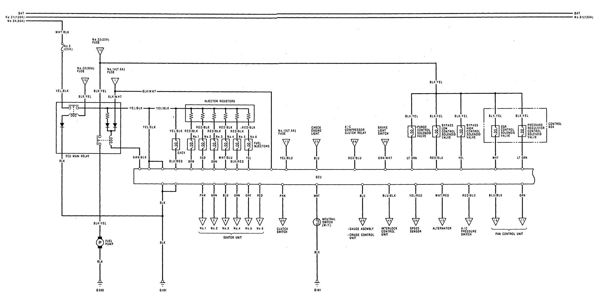 1990 lexus ls400 fuse box diagram  u2022 wiring diagram for free