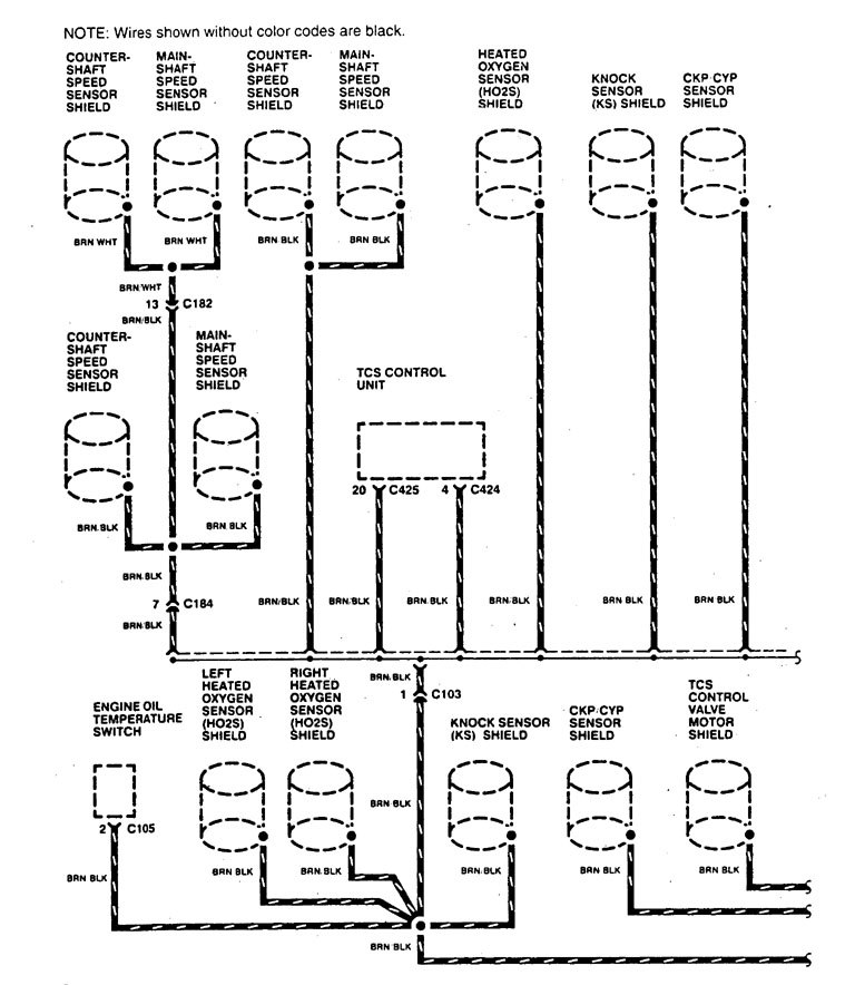 Acura Legend 1995 Wiring Diagram Ground Distribution Carknowledge Info