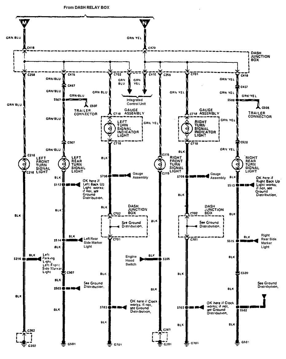 Acura Legend 1990 Wiring Diagram Hazard Lamp on Fuse Box Diagram For 1991 Mercedes Benz 420sel