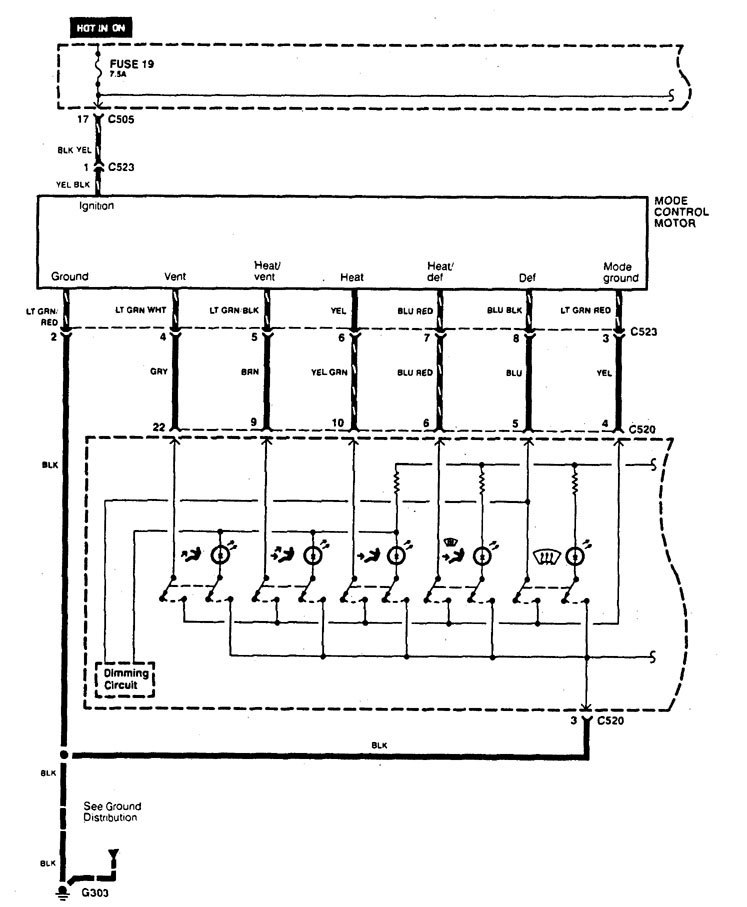 Acura legend 1995 wiring diagram hvac controls carknowledge acura legend wiring diagram hvac controls part 1 cheapraybanclubmaster Images