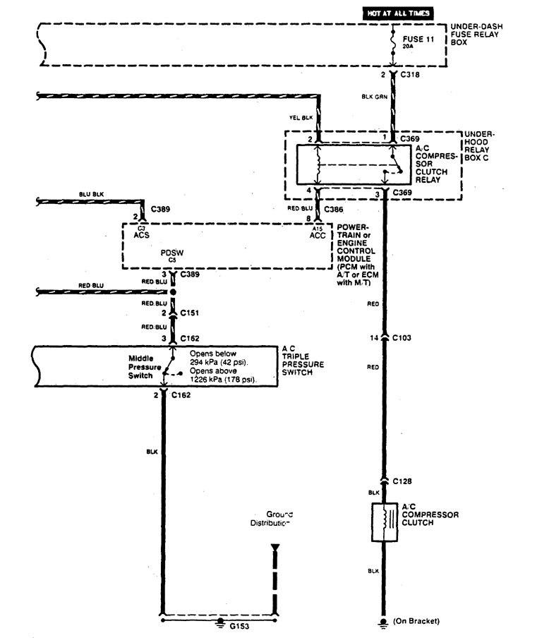 Acura Legend €� Wiring Diagram Hvac Controls Part 5: Acura Vigor Ac Wiring Diagram At Submiturlfor.com