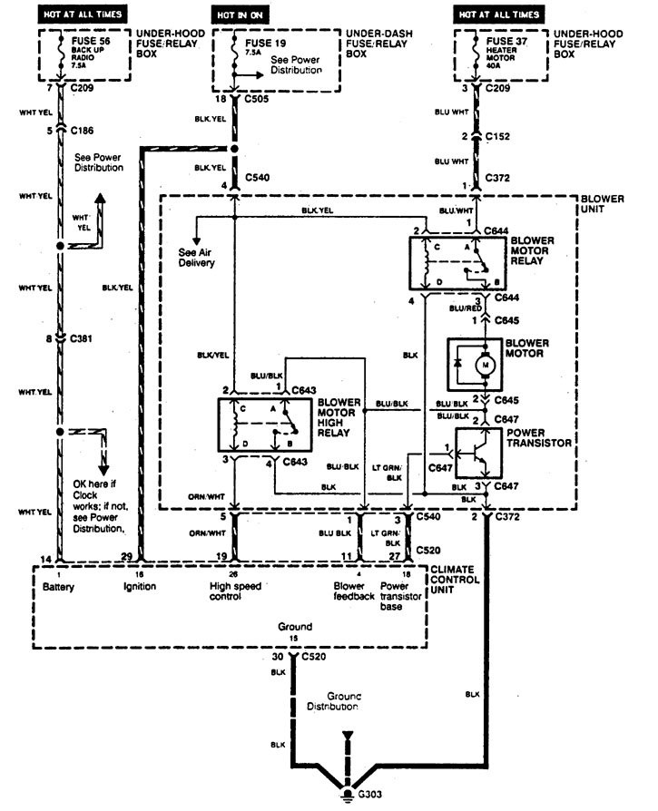kickstart potential relay wiring diagram
