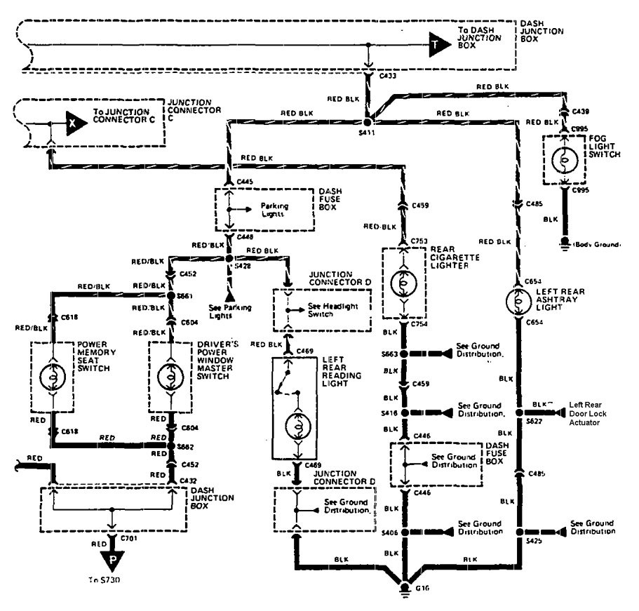 Acura Legend 1990 Wiring Diagram Instrument Panel