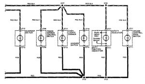 acura legend – wiring diagram – instrument panel lamps (part 4)