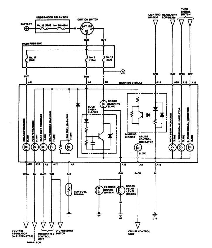 Acura Legend (1986 - 1987) - wiring diagrams - instrumentation -  Carknowledge.info   Acura Legend Wiring Diagram      Carknowledge.info