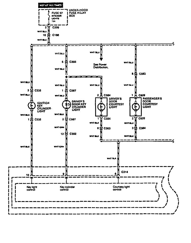acura legend wiring diagram interior lighting v2 1 1994 acura legend (1994 1995) wiring diagram interior light 1990 acura legend wiring diagram at bayanpartner.co
