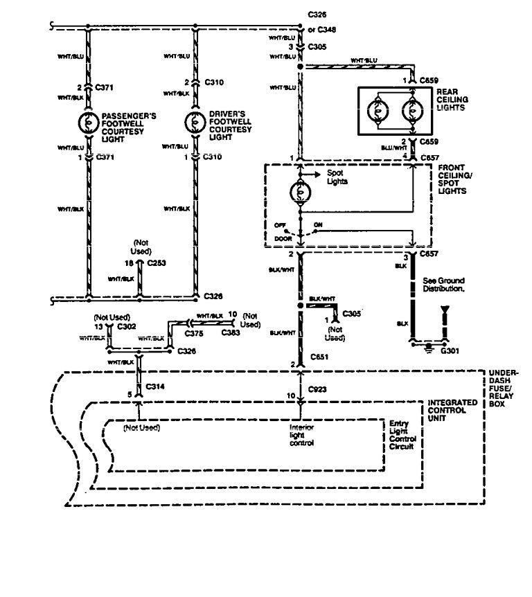 acura legend wiring diagram interior lighting v2 2 1994 acura legend (1994 1995) wiring diagram interior light 1990 acura legend wiring diagram at bayanpartner.co