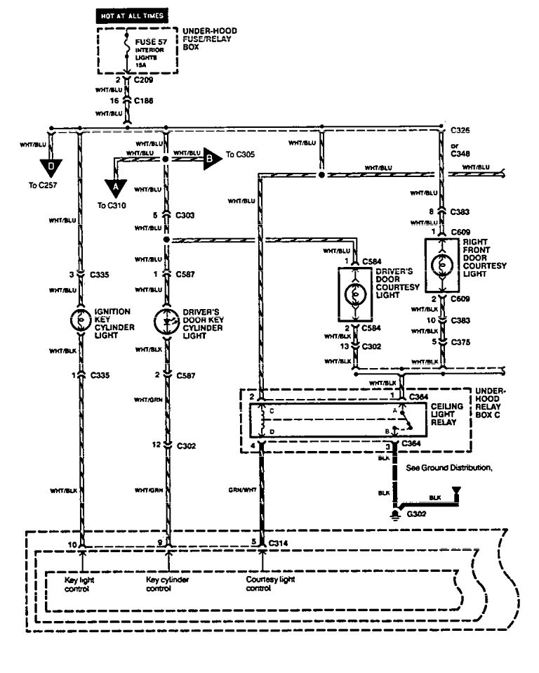 Honda legend wiring diagram and electrical system