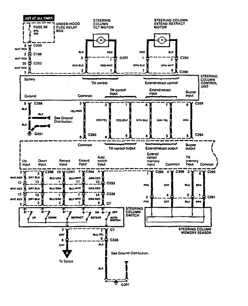 acura legend wiring diagram power seat v2 3 1995 acura legend (1995) wiring diagram power seat carknowledge 1990 acura legend wiring diagram at bayanpartner.co
