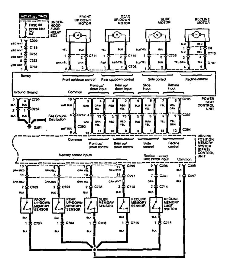 acura legend wiring diagram power seat v2 4 1995 acura legend (1995) wiring diagram power seat carknowledge 1990 acura legend wiring diagram at bayanpartner.co