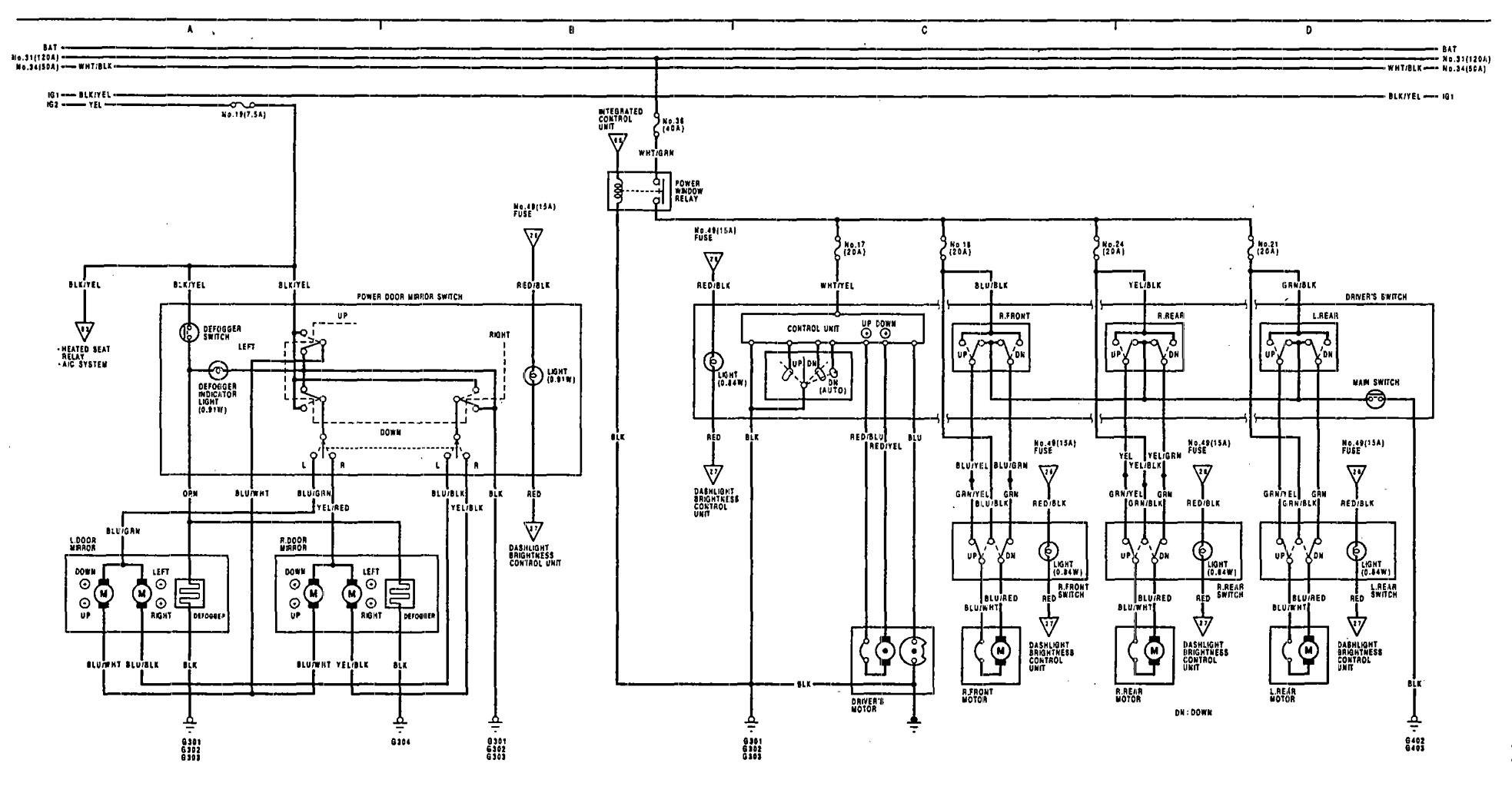 Wiring Diagram 92 Acura Vigor Library Remote Entry Keyless 2001 Xj 1991 Legend Diagramrhkomagoma