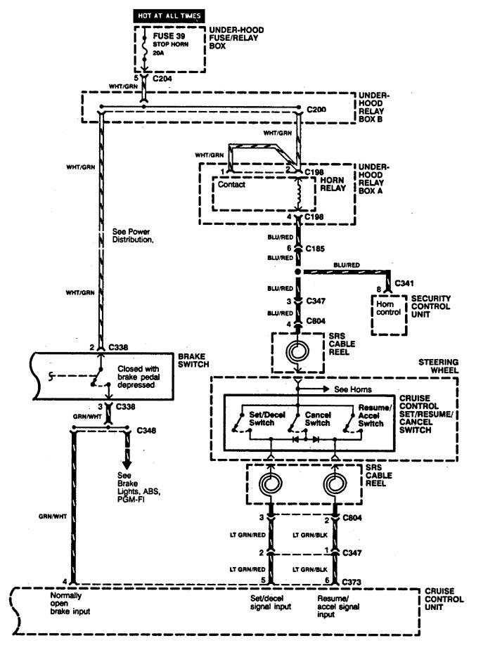 acura legend 1994 wiring diagram speed control. Black Bedroom Furniture Sets. Home Design Ideas