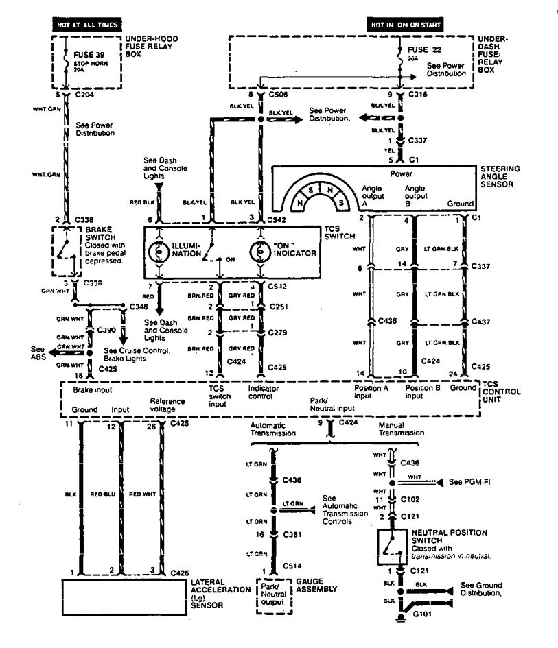 1998 chrysler concorde fuse box diagram