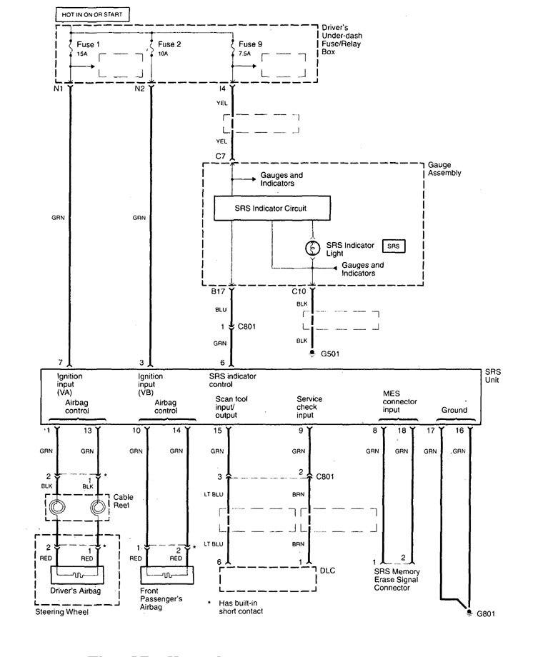 Acura Tl  1999 - 2001  - Wiring Diagrams