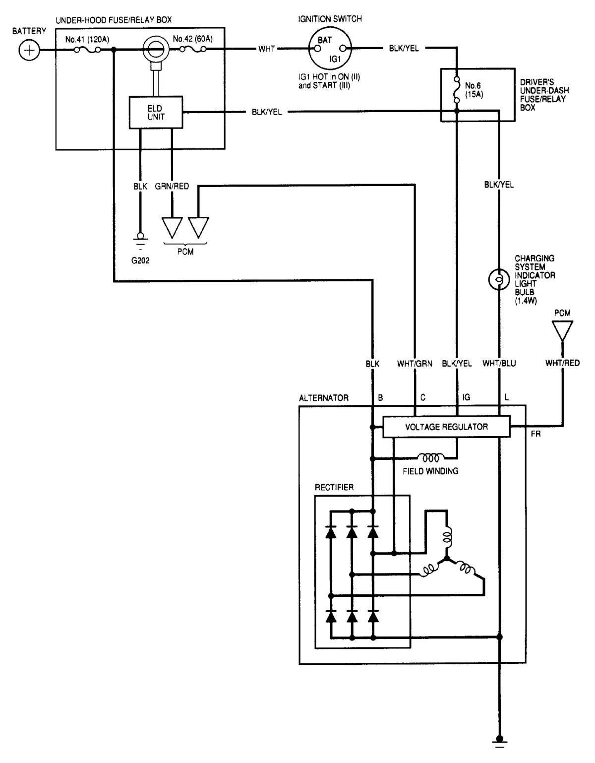 Acura Tl  2000 - 2001  - Wiring Diagrams