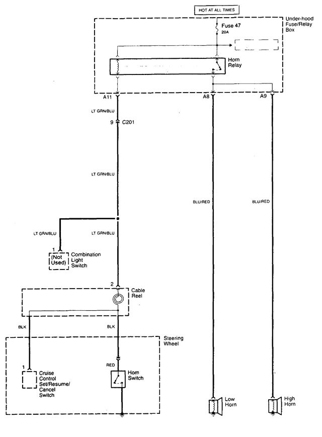 Acura Tl  1998 - 2001  - Wiring Diagrams