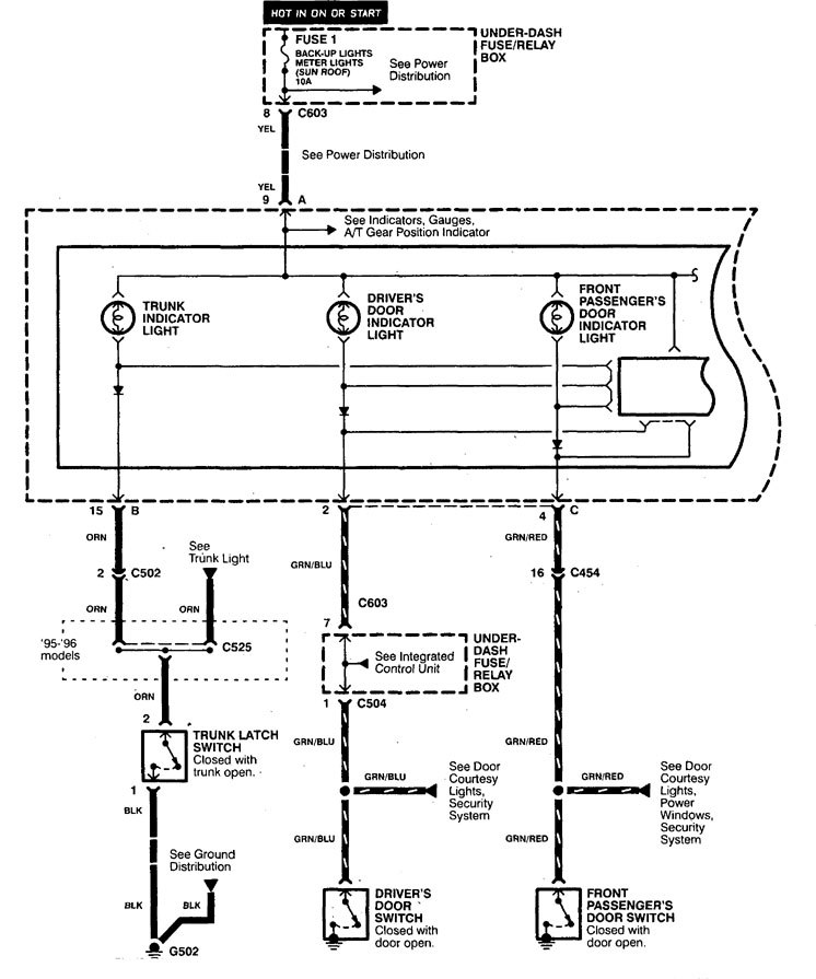Acura Tl  1998  - Wiring Diagrams