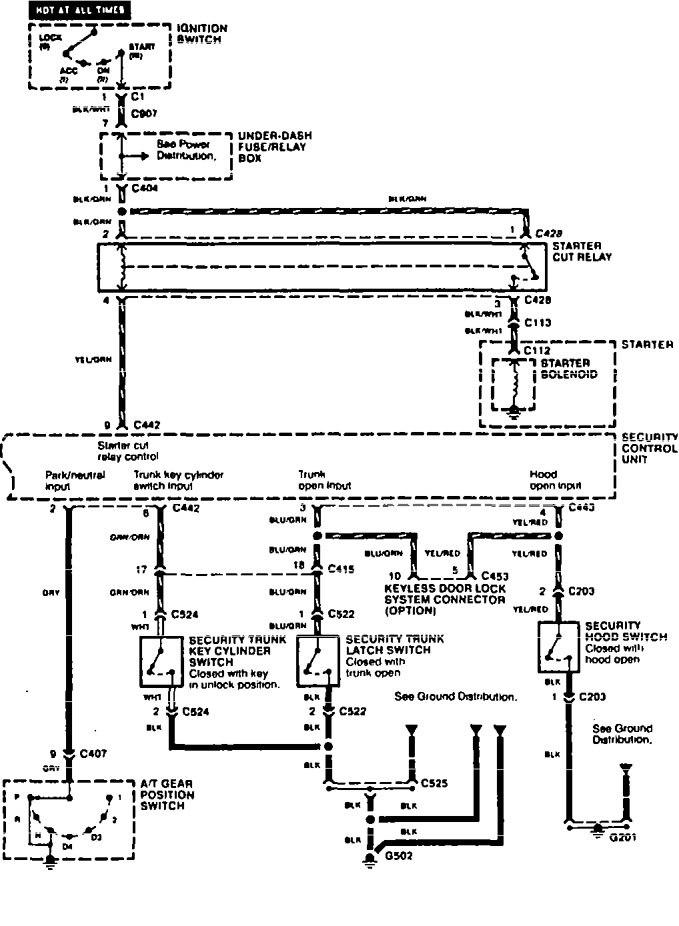 Acura Tl  1996  - Wiring Diagrams  Anti