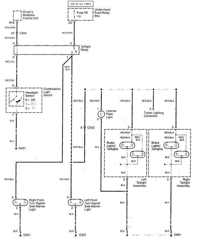 Acura Tl 1999 Wiring Diagrams Tail Ls Carknowledgerhcarknowledgeinfo: 1999 Acura Tl Wiring Diagram At Oscargp.net