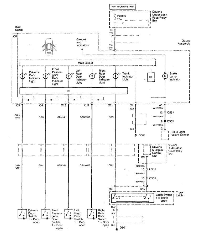 Acura Tl  1999  - Wiring Diagrams