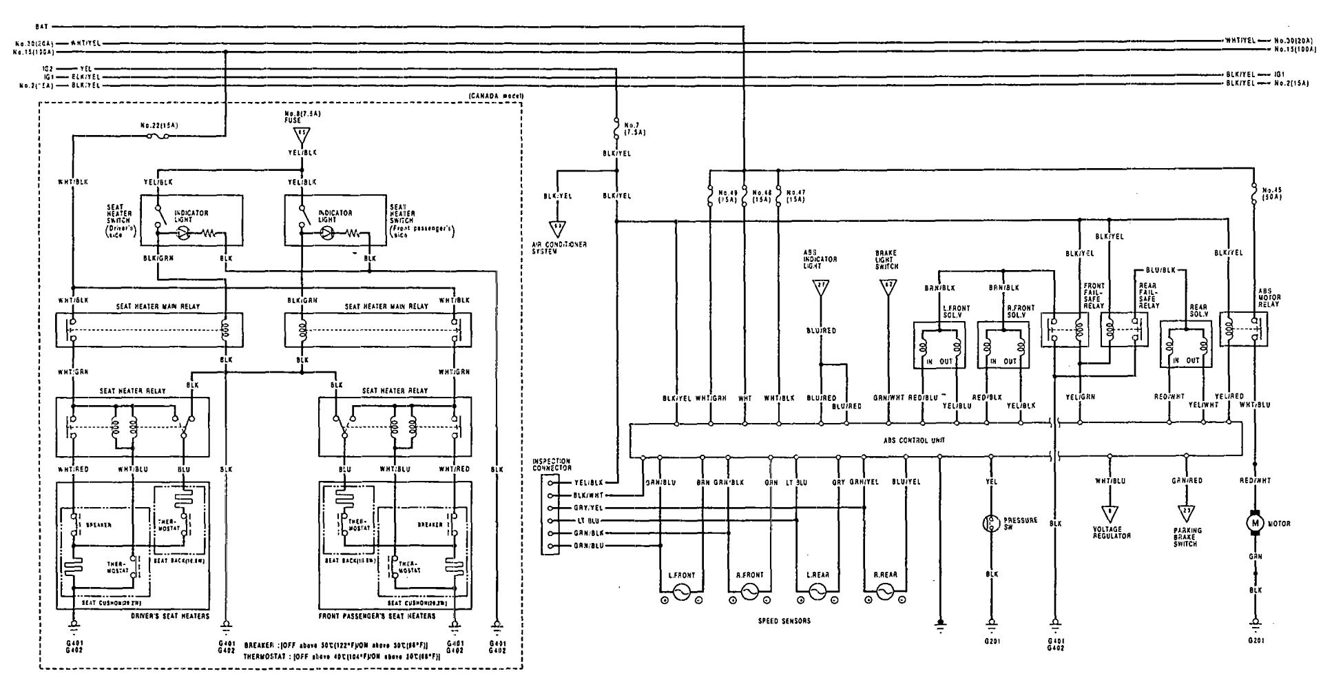 Acura Vigor Wiring Diagram