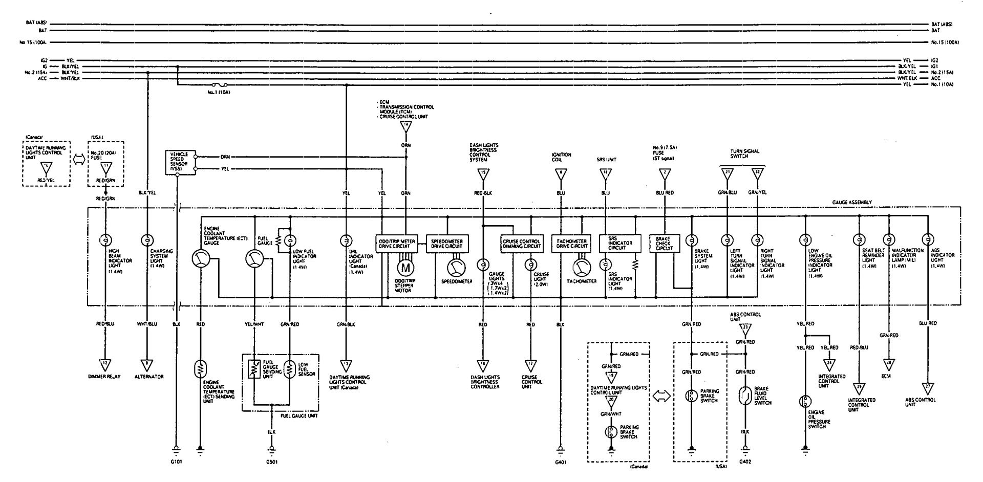 Volvo Fh12 Version 2 Wiring Diagram Manual Of Acura Vigor Fuse 1993 Diagrams Instrumentation