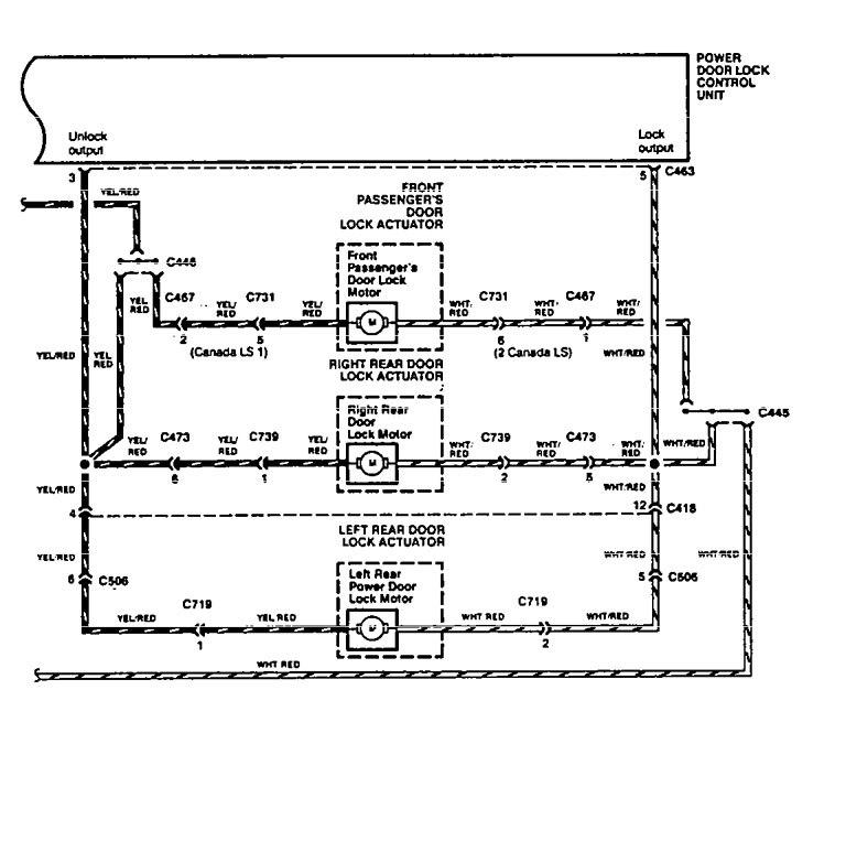 acura vigor 1994 wiring diagrams power locks carknowledge rh carknowledge info 1992 acura vigor wiring diagram Acura CL