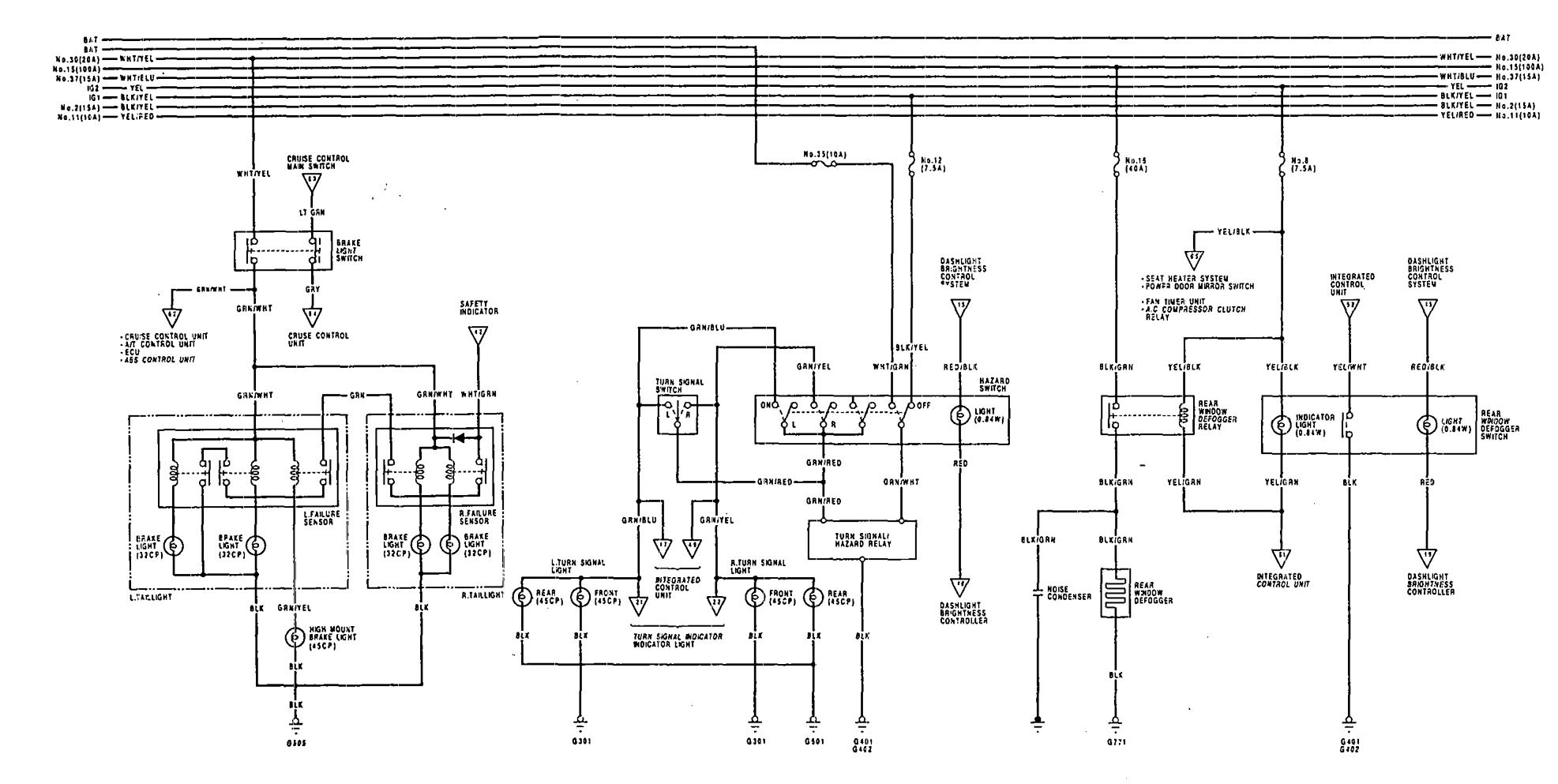89 acura legend engine diagram