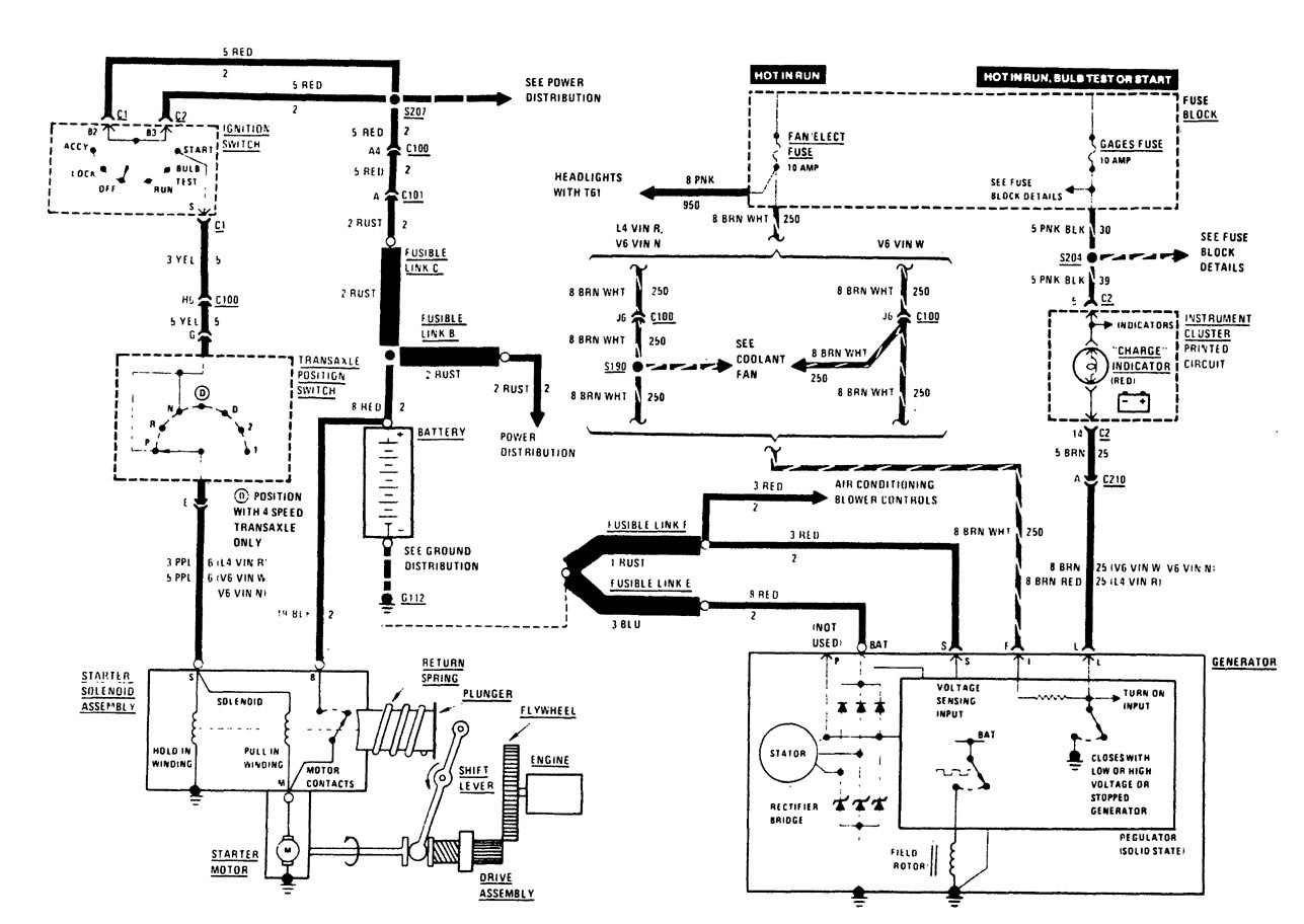 1989 Buick Century Wiring Schematic Download Diagrams Park Avenue Diagram Charging System 1987 1995