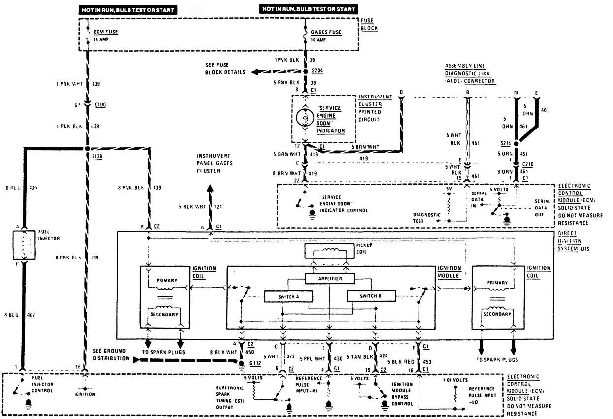 buick century  1989  - wiring diagrams