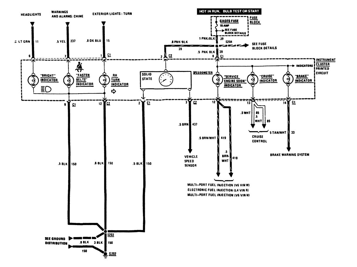 2003 buick century fuse box diagram