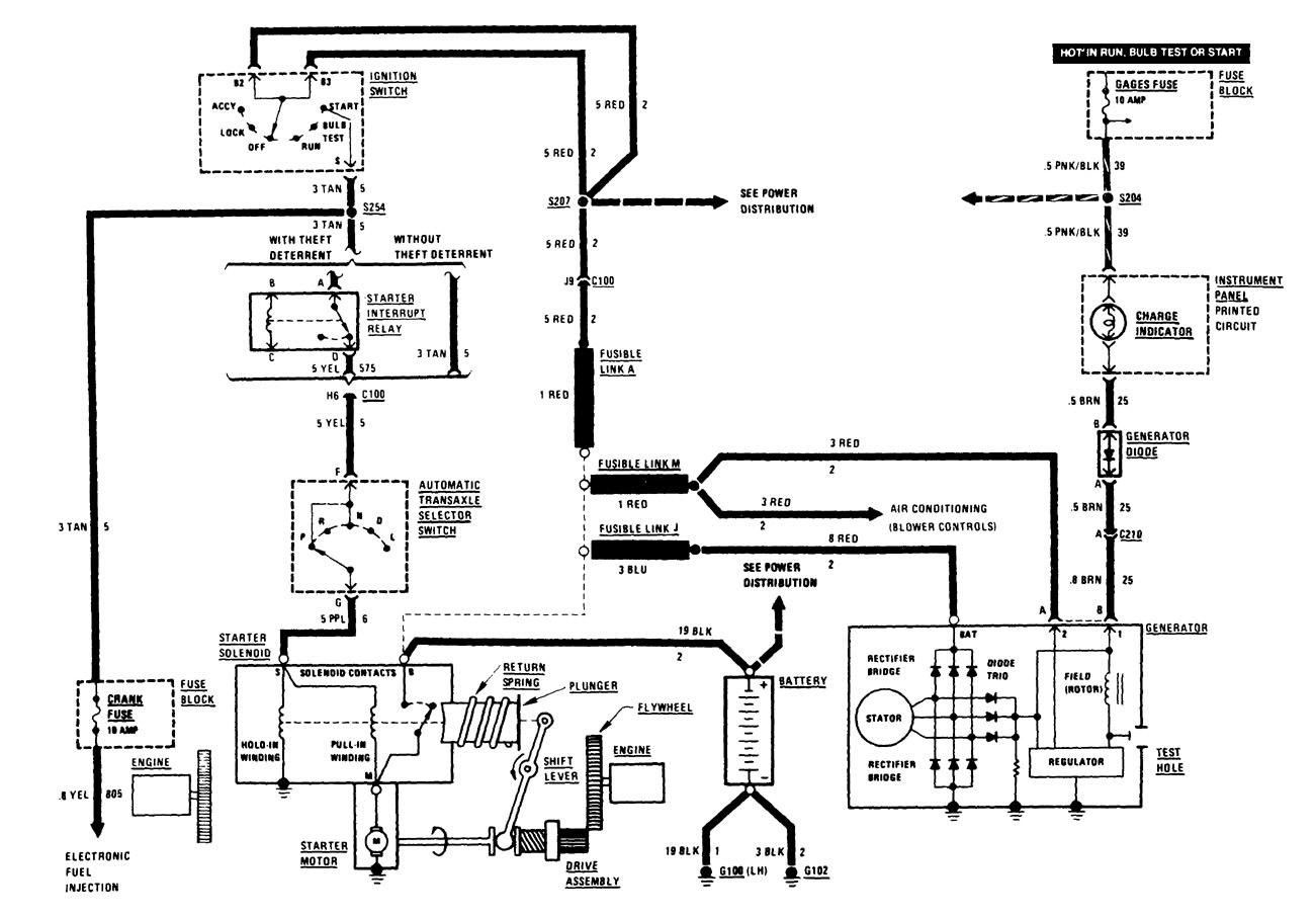Buick Century  1986  - Wiring Diagrams