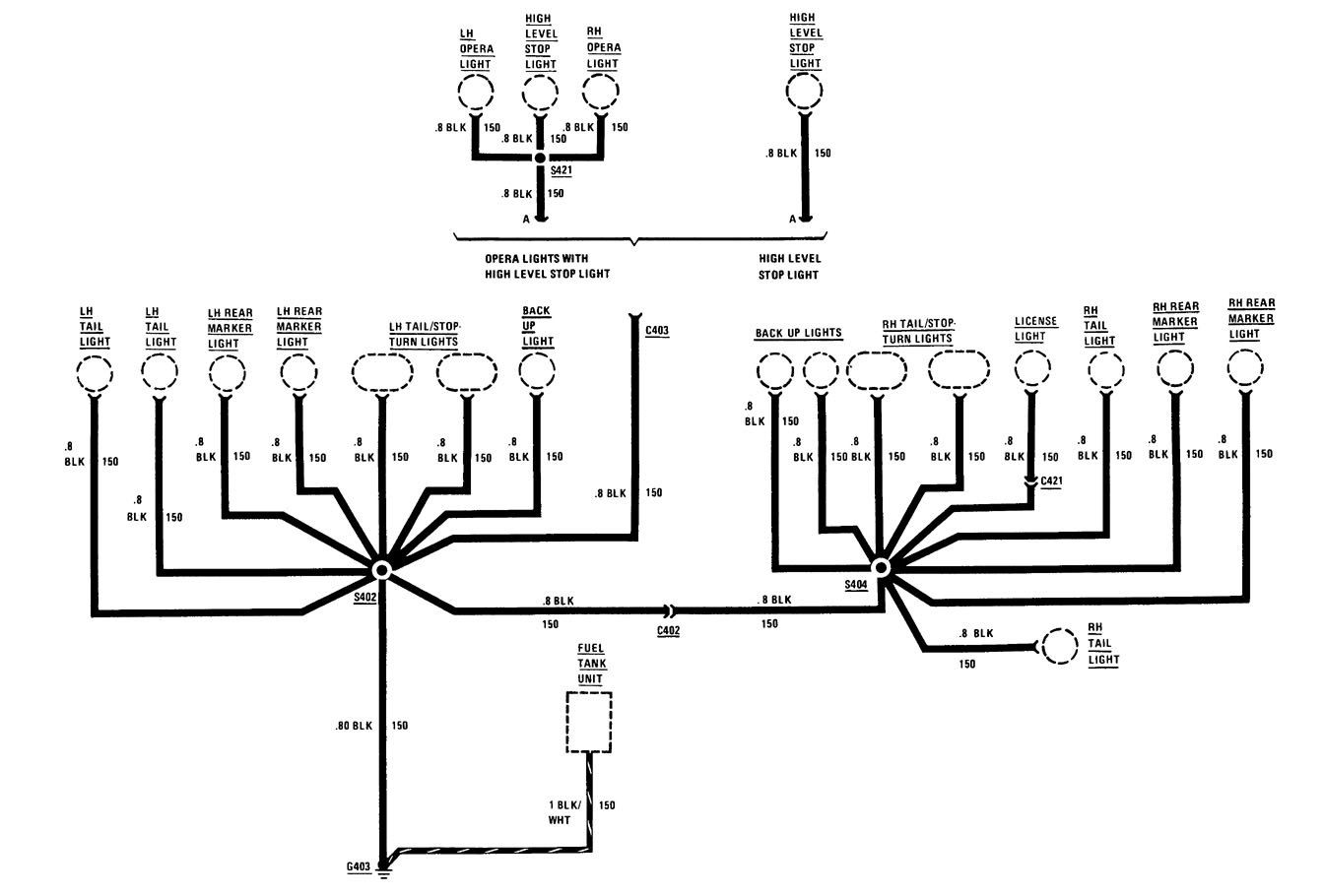 Buick Century (1986) - wiring diagrams - ground distribution - Carknowledge.info