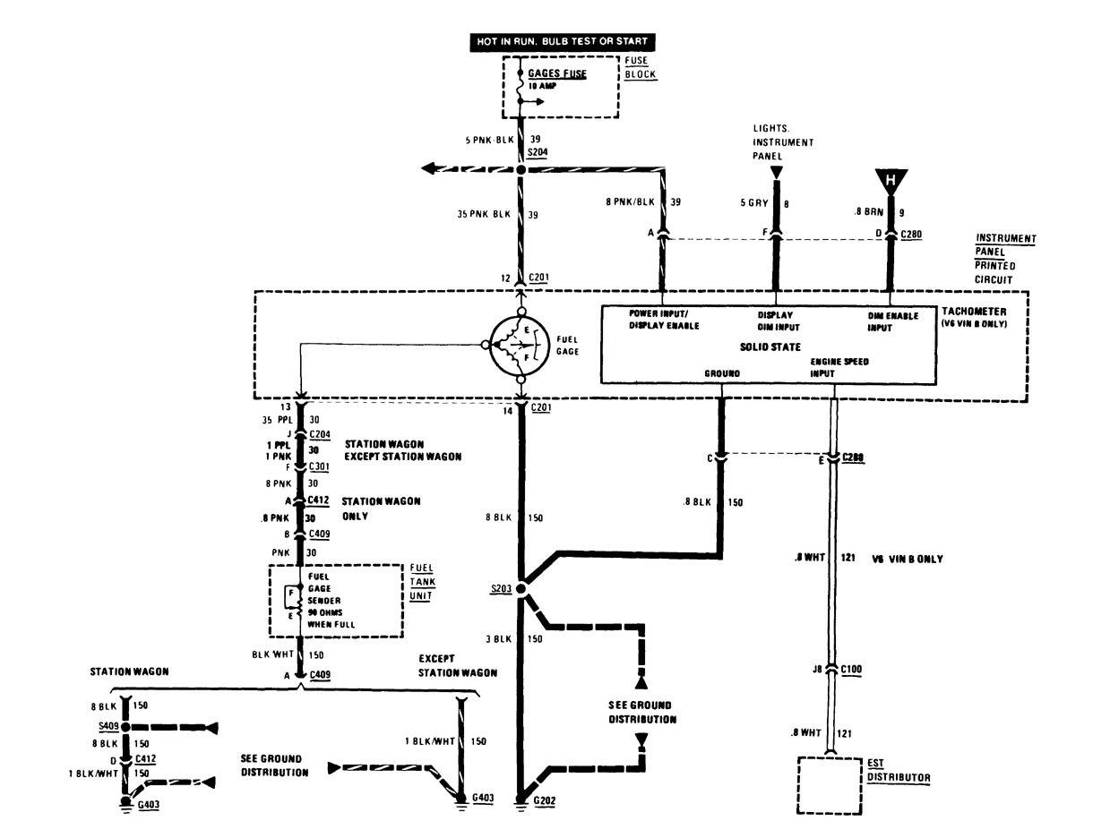 1986 buick lesabre wiring diagram buick century  1986  wiring diagrams instrumentation  buick century  1986  wiring diagrams