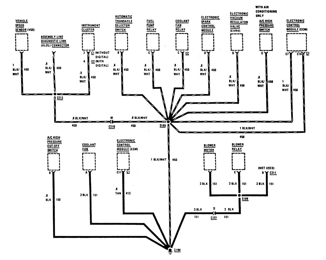 1995 buick regal electrical diagram  buick  auto wiring