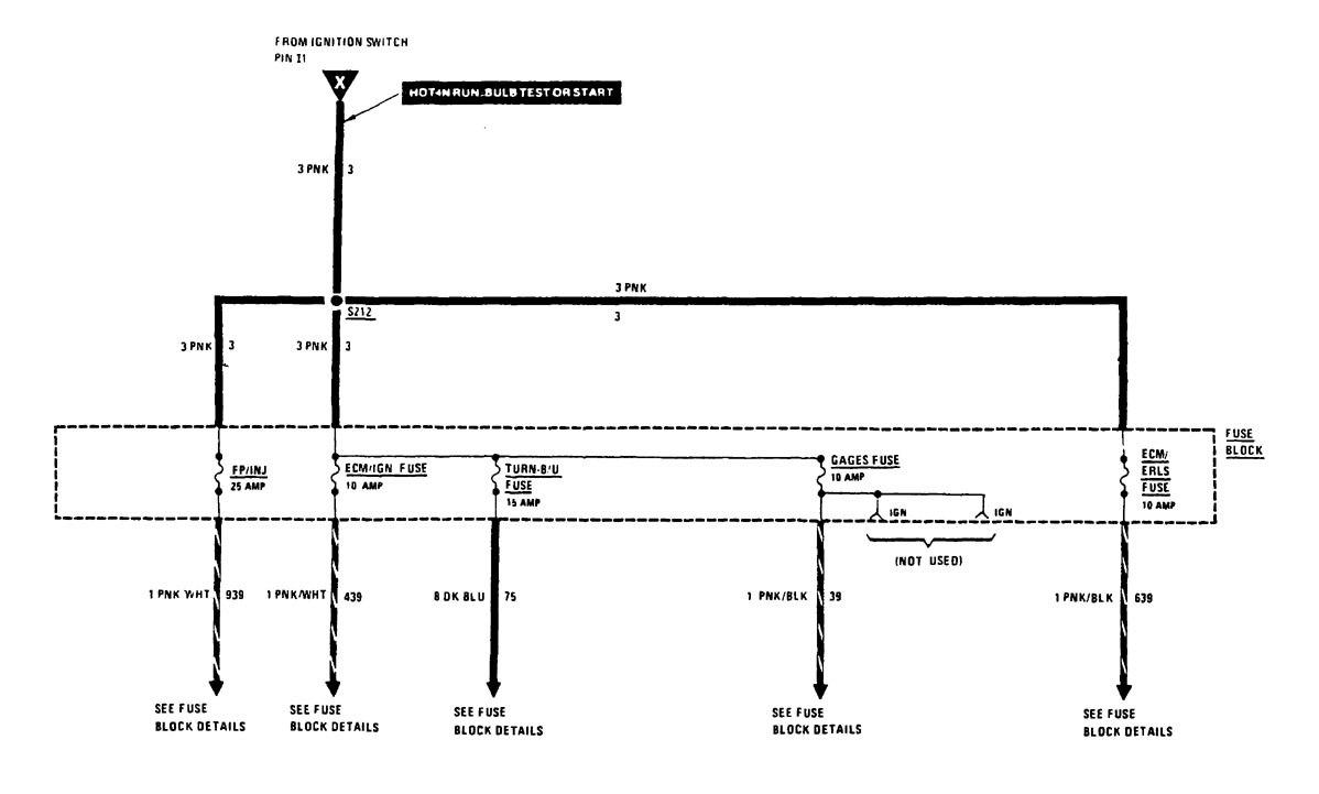 Buick Century 1988 Wiring Diagrams Power Distribution Lesabre Diagram