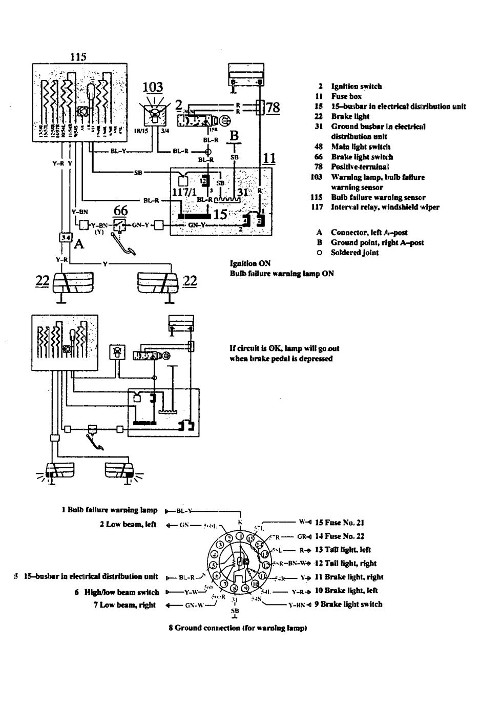 Volvo 740 1991 wiring diagrams audible warning system volvo 740 wiring diagram audible warning system swarovskicordoba Gallery