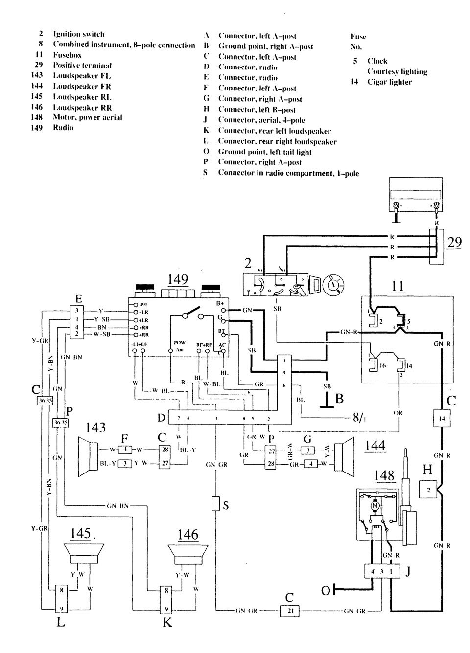 Wiring Diagram Volvo 740 Stereo Diagrams D13 Engine Lh 22 To Ezk117 My L98 Corvette Lightning V70 Electrical Truck