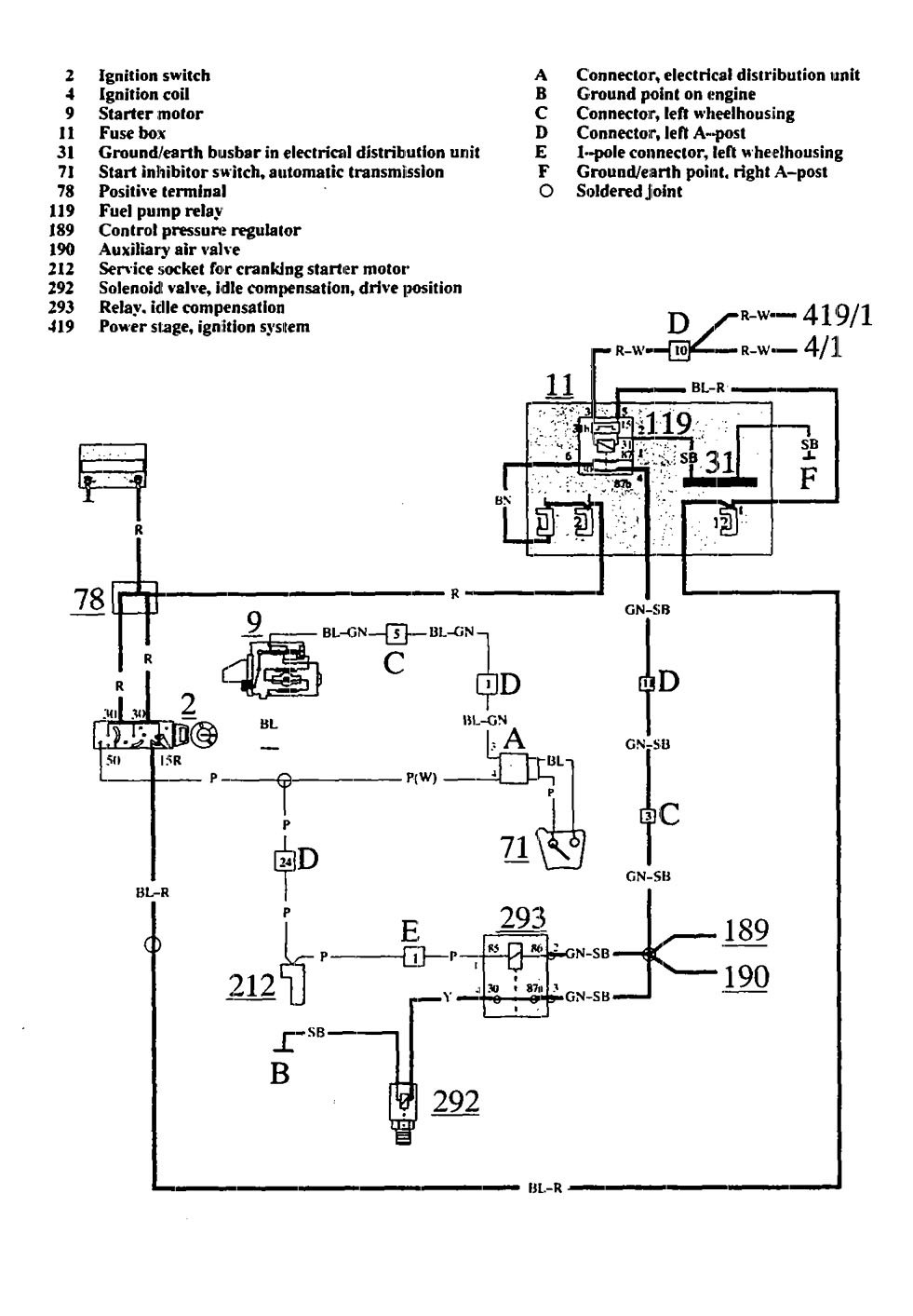 Volvo  wiring diagrams fuel pump carknowledge