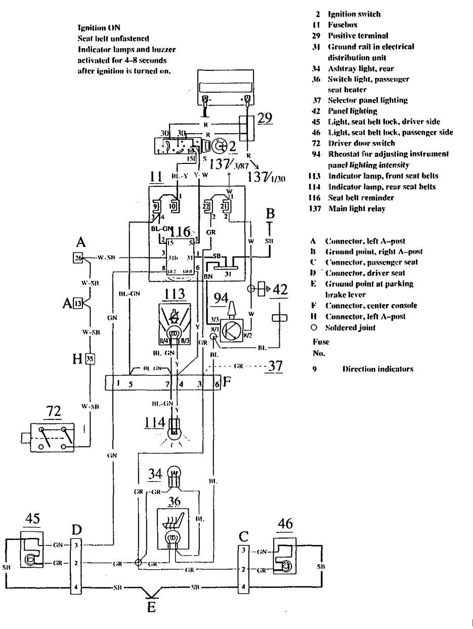 2002 ford escape seatbelt dash light wiring diagram 51
