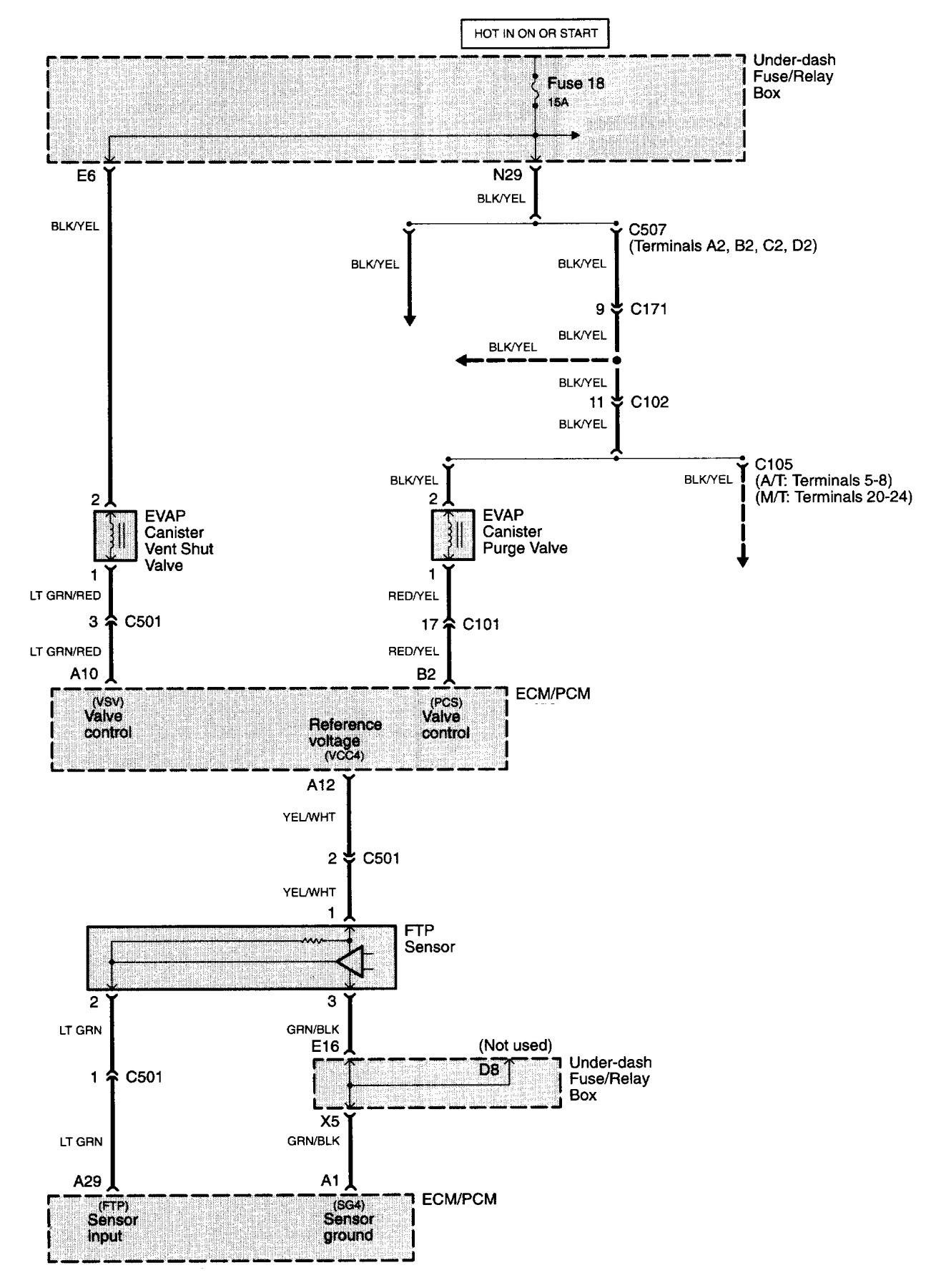 Acura Tl 2007 Wiring Diagrams Fuel Control Carknowledge Diagram Part 16