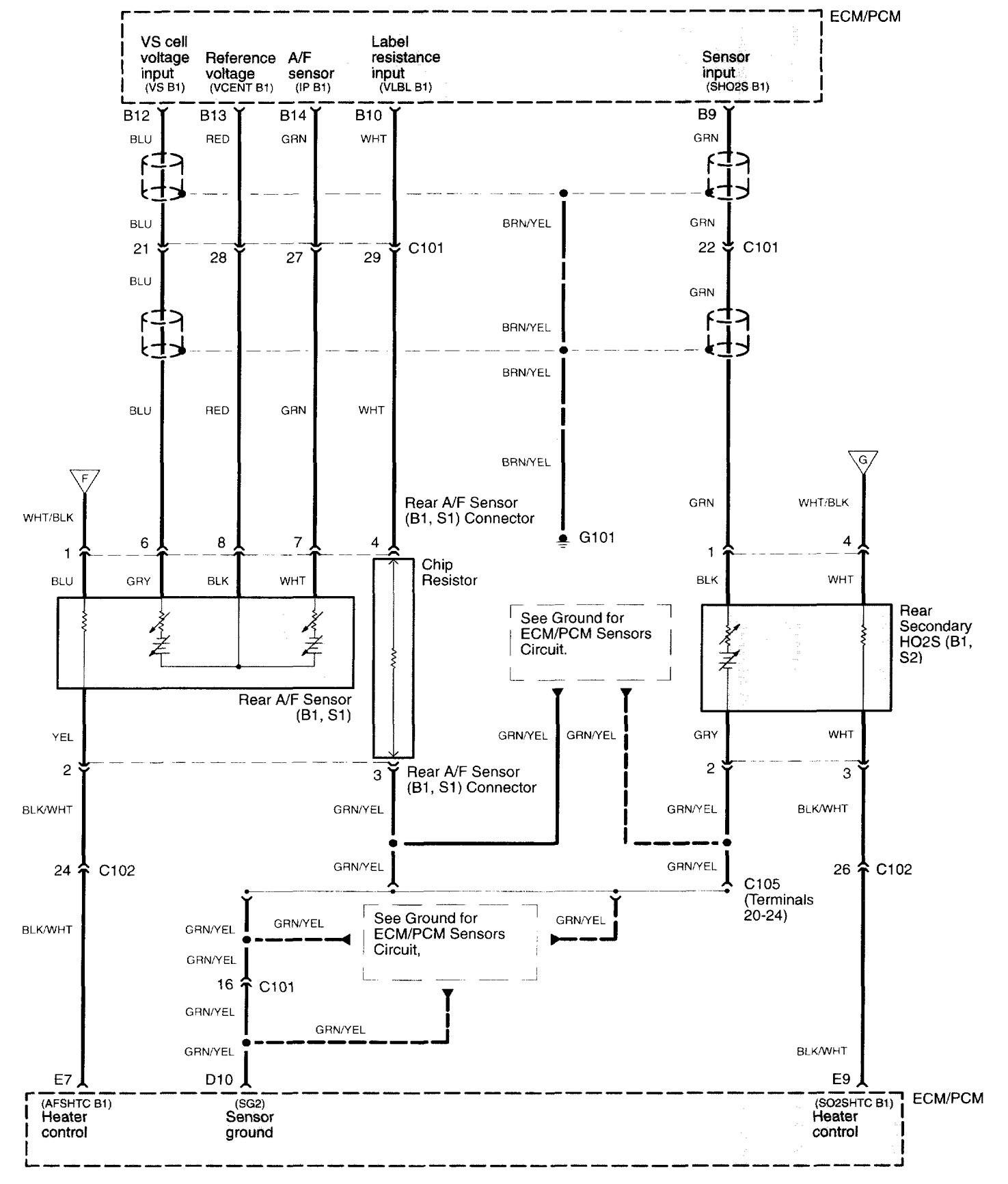 2010 Acura Tl Light Wire Diagram Smart Wiring Diagrams 2006 Fuel Control 2014 2011