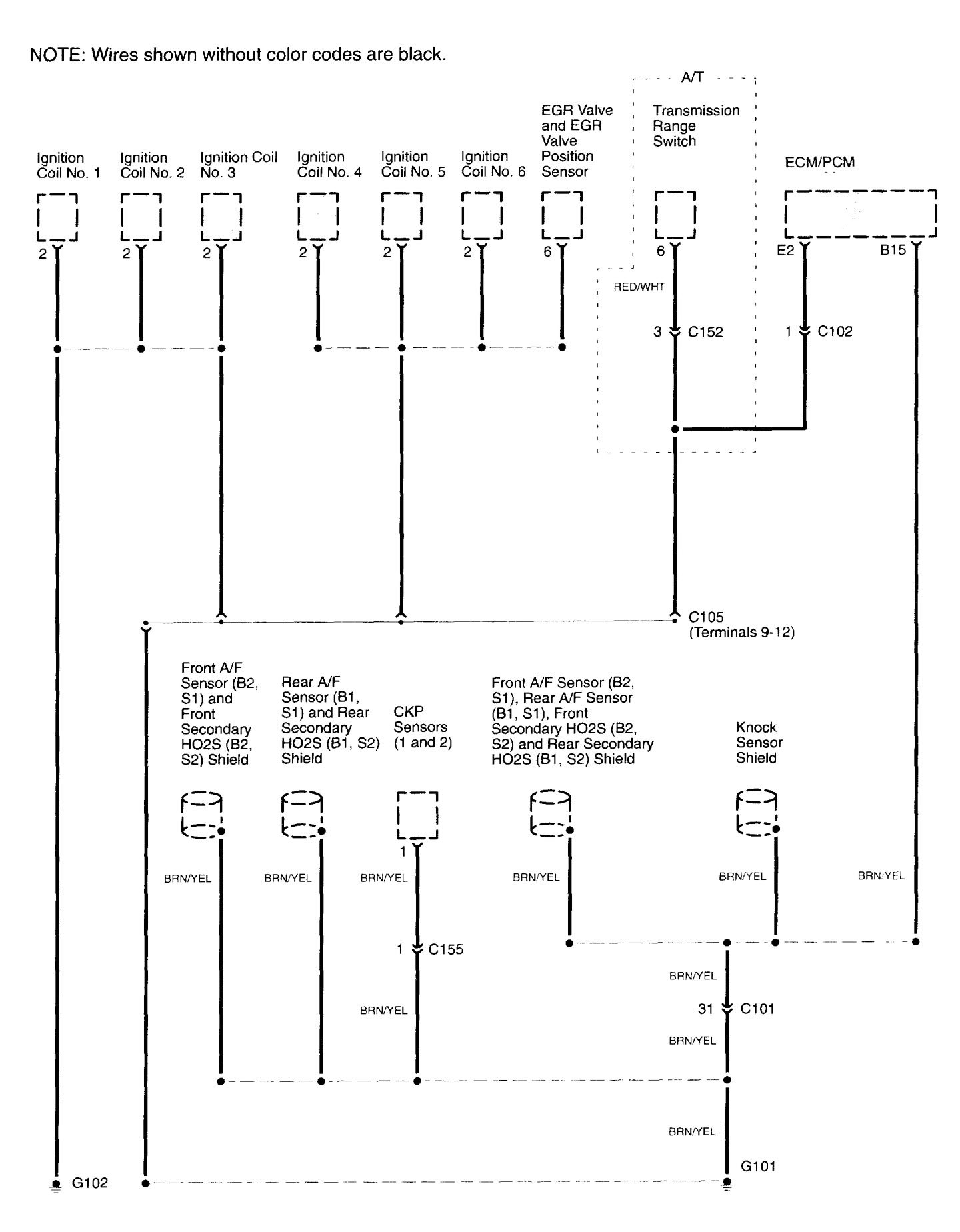 acura tl wiring diagram ground distribution v1 1 2003 2003 acura cl diagram 2003 acura cl stereo wiring diagram \u2022 free Ignition Coil Wiring at bakdesigns.co